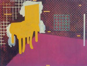 Zijn Ogen De Kost Geven, oil on canvas, 144 x 192 cm, 1990